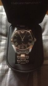 Mint condition armani watch