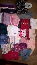 Bundle of baby girls clothes 3-6 & 6-9 months