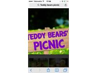 Under 12's teddy bear picnic