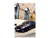 Mercedes Benz E350 AMG sport Blue Eficiency