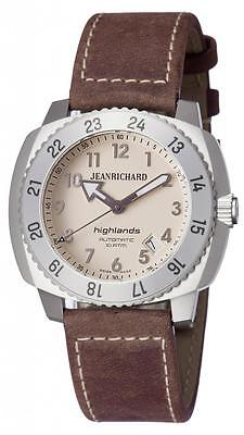 JeanRichard Highland Mens watch 60150-11-t11-hdea Brand New! JR Warranty