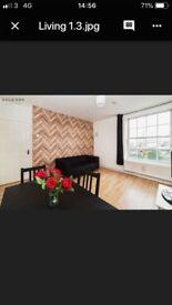 😎Amazing double room with bigg living room