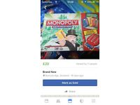 Electronic monopoly brand new