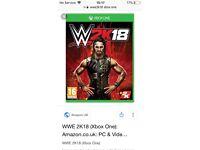 Xbox one wwe2k18