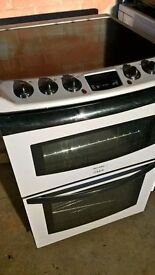 Silver Electric cooker 60cm..Mint