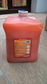 4 litre swarfega orange cartridge dispenser hand cleaner.