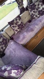 Avondale argente 555/4 touring caravan