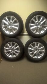 16 inch alloys and tyres 2017 mazda 6