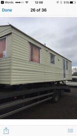 Stunning two bedroom caravan/chalet to rent £800pcm