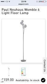 Paul Neuhaus Womble 6 Light Floor Lamp