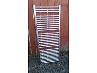 towel radiator 1500 x 600 chrome