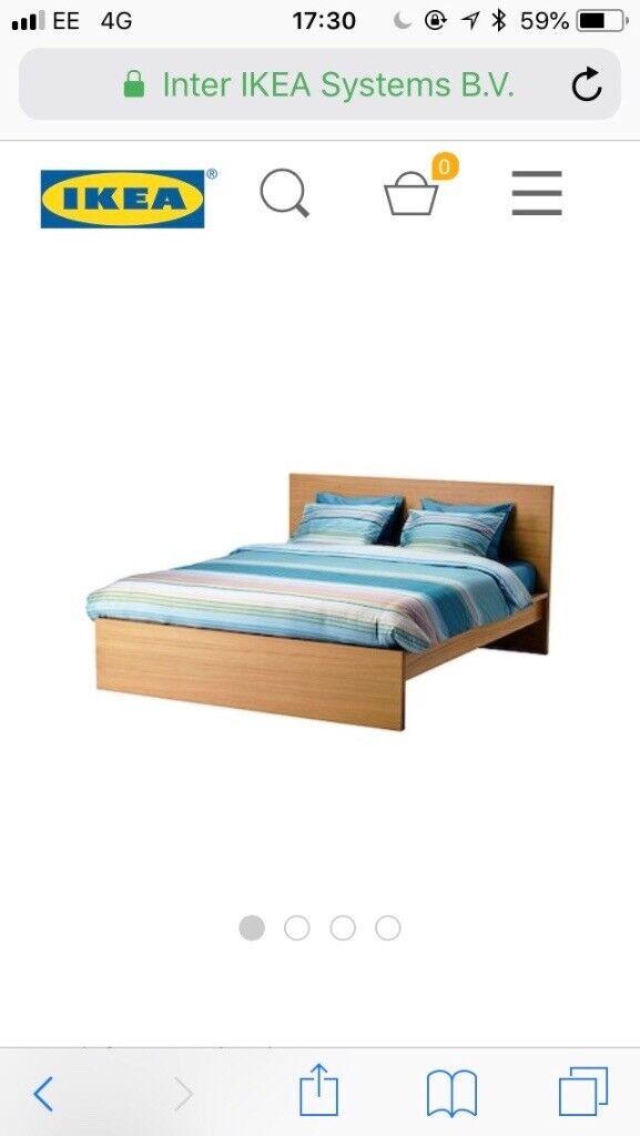 aa9decfa21c2 Ikea double bed