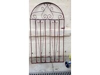 Old metal gate .needs stripped