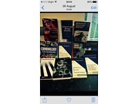 Job lot of psychology/criminology/forensic books. Ideal for both post and undergraduate