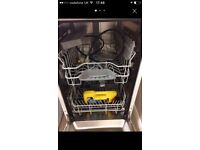 Almost new small dishwasher