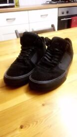 Supra Ellington Vulc Crown Coalition Full Black Limited Edition