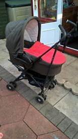 Hauck 3pc Buggy/Carrycot/Car Seat Travel System