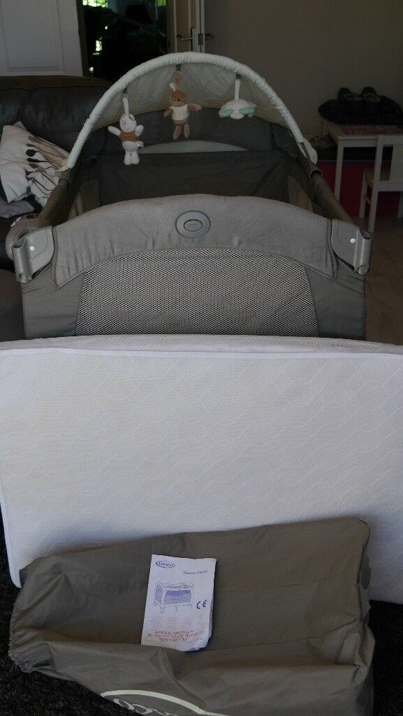 low priced 50dbc 6ed59 Graco Contour electra travel cot, plus extra travel cot mattress. | in  Rochester, Kent | Gumtree