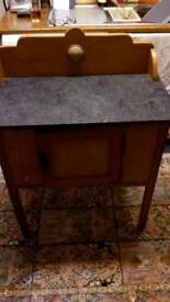 Small pine washstand