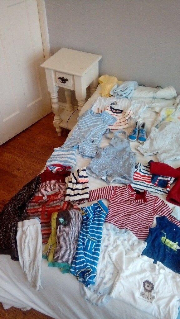 c565c8c6c Baby Boy Clothes 3 - 6 months old. Large Mixed Bundle 60+ items.