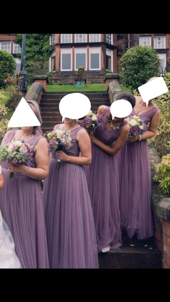 4 x Kelsey Rose Mauve Bridesmaid Dresses Glasgow | in Paisley ...