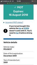Black Peugeot