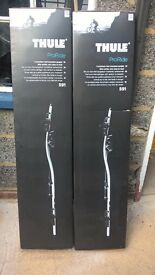 2 x Thule 591 ProRide bicycle carriers, New in box