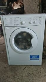Indesit IWDC6125 Washer Dryer, 6kg