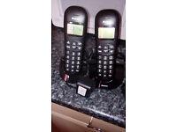 Binatone Home Telephones - Twin pack