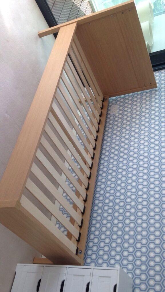 john lewis unused single bed frame pick up in. Black Bedroom Furniture Sets. Home Design Ideas