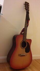 Single Cutaway Guitar - Encore - 20 frets
