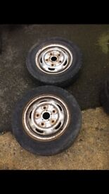 FORD TRANSIT STEEL RIMS FOR SALE