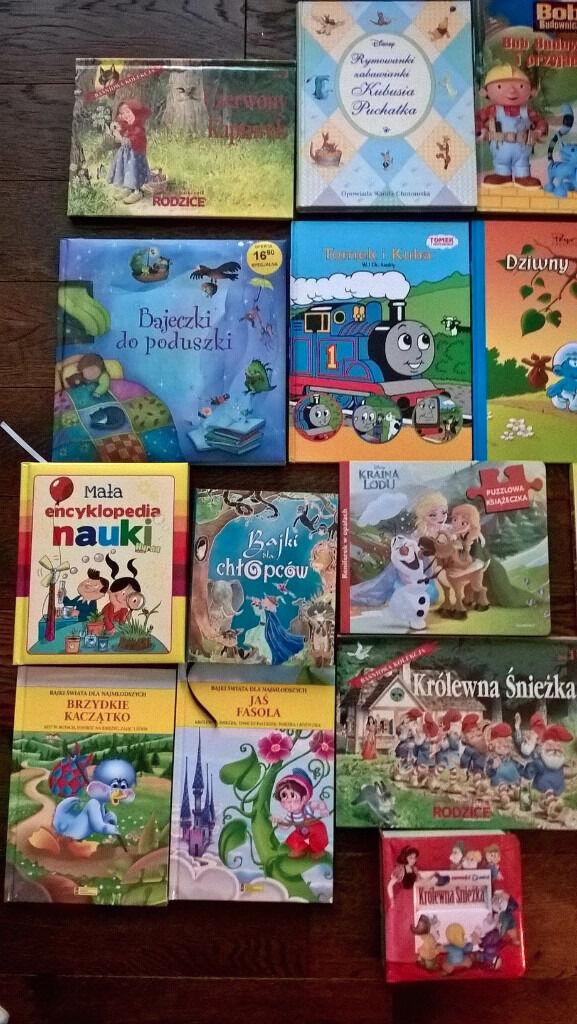 Kids books in Polish (40 books and stories)/ 40 bajek i opowiadan dla dzieci w jezyku polskim