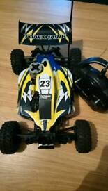 Thunder tiger tomahawk bx nitro rc car