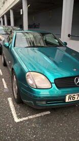 Mercedes 200 CLK for sale. 1998 model convertible.
