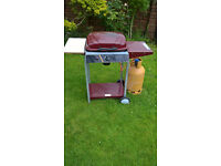 Gas Barbecue with single burner.