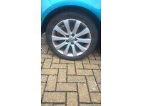 vauxhall alloy rims 225 45 17 good condition £150 ono