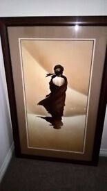 Arabian princess framed picture