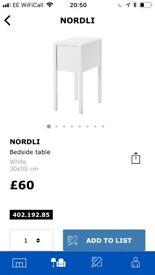Nordli ikea bedside table