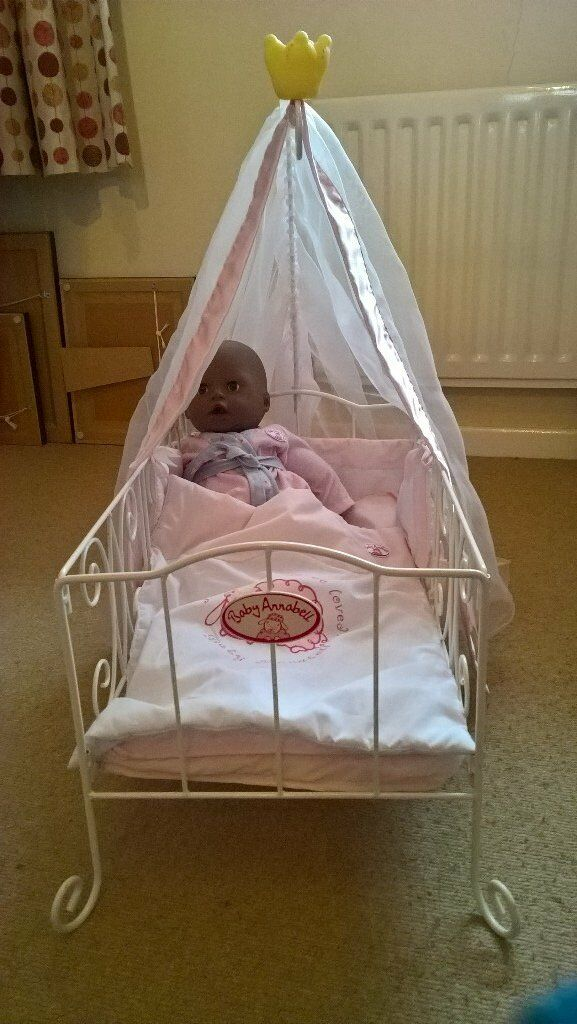 Baby annabell cot ads buy & sell used - find great prices