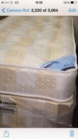 (New) semi ortho double mattress