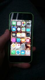 iPhone 5c green 8gb unlocked