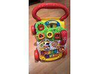 NOW SOLD V Tech first steps baby walker £5 - excellent condition, complete and fully working