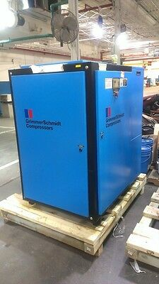 Used 20 Hp Rotary Grimmer Schmidt Compressor