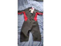 Wetsuit Ladies Shorty Red Black New Size 12