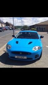 Jaguar XKR in Calypso Blue. FSH 4.2 Supercharged