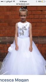 Communion dresses made by Thelma madine of big fat gypsy weddings