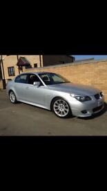 BMW 520d M-Sport, F/S/H, 12 months MOT, full leather, heated seats,