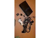 Sony PS2 console and 98 games