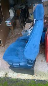 swivel seats ideal for conversion vw transporter.